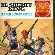 Tebeos: EL SHERIFF KING - EL TREN DESAPARECIDO - BRUGUERA 1975 2ª EDICION - GRANDES AVENTURAS JUVENILES Nº 6. Lote 122344643