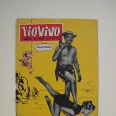 Tebeos: TIO VIVO Nº 52 - AÑO I - PRIMERA EPOCA - EDITORIAL CRISOL 1957. Lote 122478323