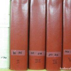 Tebeos: GENTE MENUDA. ABC. DEL Nº 1 AL Nº 391 ENCUADERNADOS EN SEIS VOLUMENES. . Lote 122534395