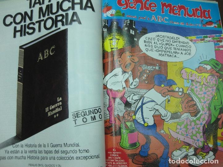 Tebeos: GENTE MENUDA. ABC. DEL Nº 1 AL Nº 391 ENCUADERNADOS EN SEIS VOLUMENES. - Foto 2 - 122534395