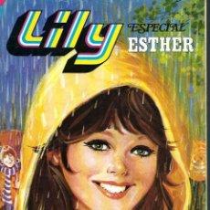 Tebeos: LILY ESPECIAL ESTHER - EXTRA Nº 12 - LLUVIAL MIL - BRUGUERA 1980 - SIN EL POSTER CENTRAL. Lote 122596387
