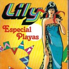 Tebeos: LILY ESPECIAL PLAYAS - EXTRA Nº 18 - BRUGUERA 1981 - CON EL POSTER CENTRAL. Lote 122596555