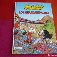 Tebeos: MORTADELO Y FILEMON GRANDES DEL HUMOR LOS GUARDAESPALDAS ( IBAÑEZ ) TAPA DURA ¡COMO NUEVO! . Lote 122681191