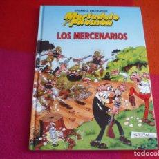 Tebeos: MORTADELO Y FILEMON GRANDES DEL HUMOR LOS MERCENARIOS TAPA DURA ¡COMO NUEVO! . Lote 122681299