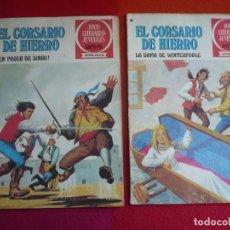 Tebeos: EL CORSARIO DE HIERRO NºS 42 Y 43 1978 1ª EDICION JOYAS LITERARIAS JUVENILES SERIE ROJA BRUGUERA. Lote 122749671