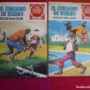 Tebeos: EL CORSARIO DE HIERRO NºS 48 Y 49 1978 1ª EDICION JOYAS LITERARIAS JUVENILES SERIE ROJA BRUGUERA. Lote 122749935