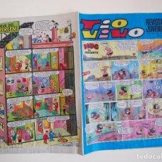 Tebeos: TIO VIVO Nº 465 - AÑO XIII - SEGUNDA EPOCA - EDITORIAL BRUGUERA 1970. Lote 122760299