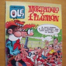 Tebeos: MORTADELO Y FILEMON COLECCION OLE 1ª EDICION JUNIO 1989. Lote 122880511