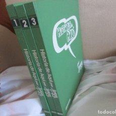 Tebeos: HISTORIA DE AQUÍ POR FORGES- EDITORIAL BRUGUERA, 1° EDICIÓN 1980. COMPLETA!!!.. Lote 122971615