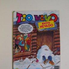 Tebeos: TIO VIVO Nº 47 - EXTRA NEVADO - CONTIENE POSTAL MORTADELO - EDITORIAL BRUGUERA 1984 . Lote 123107483