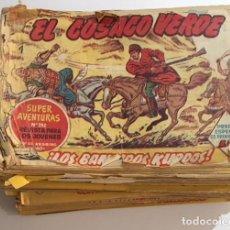 Tebeos: LOTE COMIC EL COSACO VERDE ORIGINAL BRUGUERA CASI COMPLETO DEL 1 AL 144. Lote 123336919
