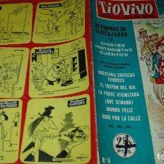 Tebeos: TIO VIVO 1ª EPOCA Nº 6 - EDICIONES CRISOL - BRUGUERA - 1958 . Lote 123584763