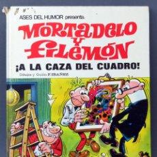 Tebeos: MORTADELO Y FILEMÓN A LA CAZA DEL CUADRO ASES DEL HUMOR Nº 13 BRUGUERA 1971 1ª EDICIÓN. Lote 123689023