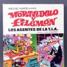 Tebeos: MORTADELO Y FILEMÓN LOS AGENTES DE LA TIA ASES DEL HUMOR Nº 16 BRUGUERA 1972 1ª EDICIÓN. Lote 123692831