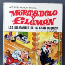 Tebeos: MORTADELO Y FILEMÓN LOS DIAMANTES DE LA GRAN DUQUESA ASES DEL HUMOR Nº 20 BRUGUERA 1973 1ª EDICIÓN. Lote 123693763
