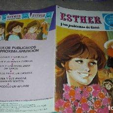 Tebeos: JOYAS LITERARIAS JUVENILES SERIE AZUL ESTHER. Nº 3. EDITORIAL BRUGUERA. 1ª EDICION. 1978. Lote 123793795