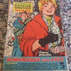 BDs: SISSI ALMANAQUE NAVIDAD DE 1960 CÓMIC BRUGUERA . Lote 123844595