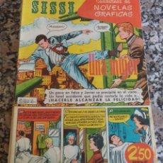 Tebeos: SISSI Nº 35 CUADERNOS NOVELA GRAFICA BRUGUERA6. Lote 123851431