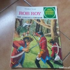 Tebeos: ROB ROY. WALTER SCOTT. JOYAS LITERARIAS. BRUGUERA. N° 11. TERCERA EDICIÓN. 1975. . Lote 124220851