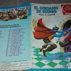 Tebeos: EL CORSARIO DE HIERRO. Nº 51. GOLPE DE AUDACIA. 1ª EDICION 1978. Lote 124491487