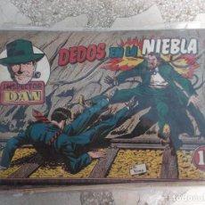 Tebeos: INSPECTOR DAN Nº 10,DEDOS EN LA NIEBLA, 12 PAGINAS,ORIGINAL, 1954. Lote 124509167