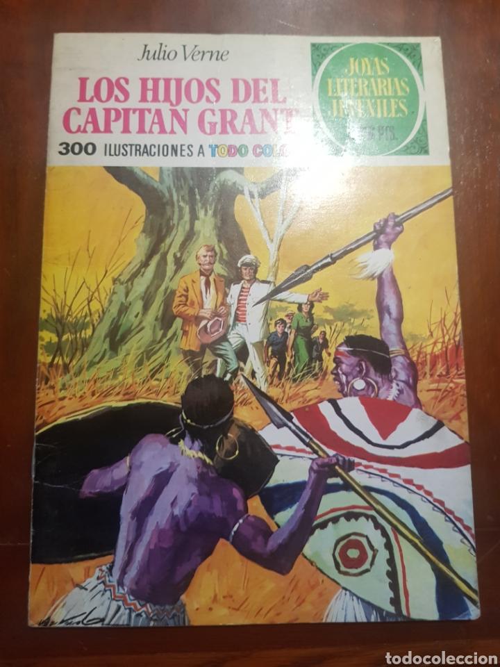 LOS HIJOS DEL CAPITÁN GRANT JULIO VERNE (Tebeos y Comics - Bruguera - Joyas Literarias)