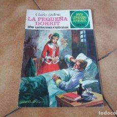 Tebeos: LA PEQUEÑA DORRIT. CHARLES DICKENS. JOYAS LITERARIAS. N° 115. BRUGUERA. SEGUNDA EDICIÓN, 1977.. Lote 124513295