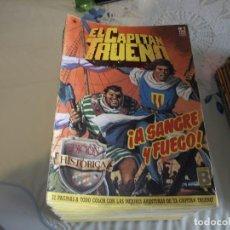 Tebeos: EL CAPITÁN TRUENO - EDICIÓN HISTÓRICA - COMPLETA Nº1 A Nº148 - EDICIONES B. Lote 124528879