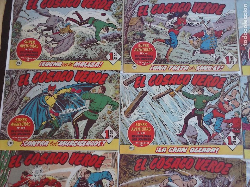 Tebeos: EL COSACO VERDE COMPLETA ORIGINAL Y SUELTA - 1 AL 144 , MAGNÍFICO ESTADO, VER TODAS LAS PORTADAS - Foto 189 - 94629439