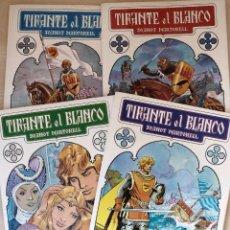 Tebeos: TEBEO TIRANTE EL BLANCO 4 VOLUMENES EDICIÓN COMPLETA 1982. Lote 125031158