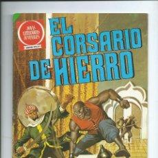 Tebeos: EL CORSARIO DE HIERRO Nº 4 SERIE ROJA JOYAS LITERARIAS EN LA BOCA DEL LOBO. Lote 125054915
