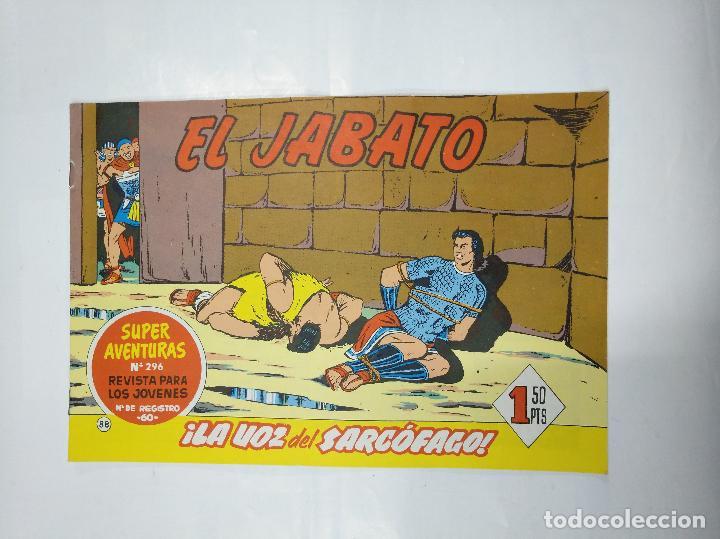 EL JABATO Nº 88. ¡LA VOZ DEL SARCOFAGO! SUPER AVENTURAS Nº 296 REVISTA PARA LOS JOVENES. TDKC31 (Tebeos y Comics - Bruguera - Jabato)