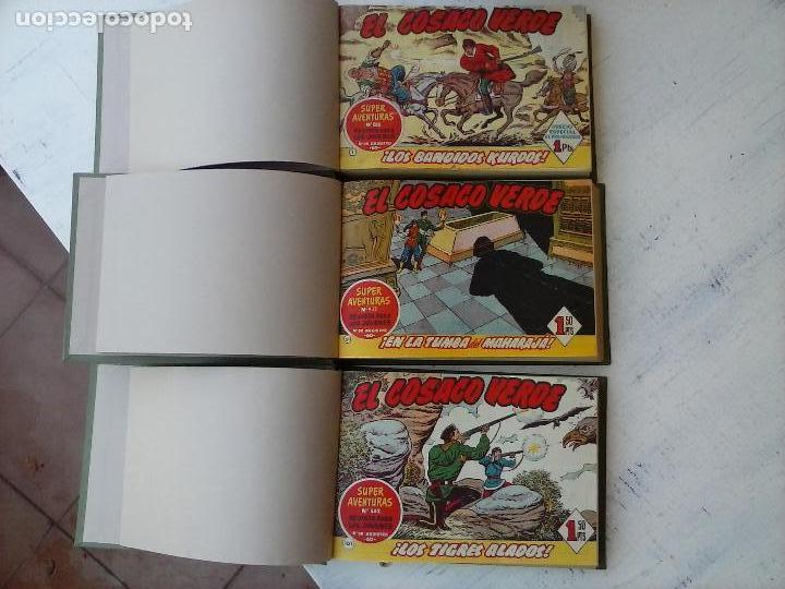 Tebeos: EL COSACO VERDE COMPLETA ORIGINAL 1 A 144 - EN MAGNÍFICO ESTADO, VER NUMEROSAS IMÁGENES, DE LUJO - Foto 2 - 125098099