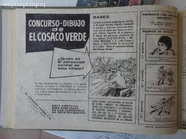 Tebeos: EL COSACO VERDE COMPLETA ORIGINAL 1 A 144 - EN MAGNÍFICO ESTADO, VER NUMEROSAS IMÁGENES, DE LUJO - Foto 3 - 125098099