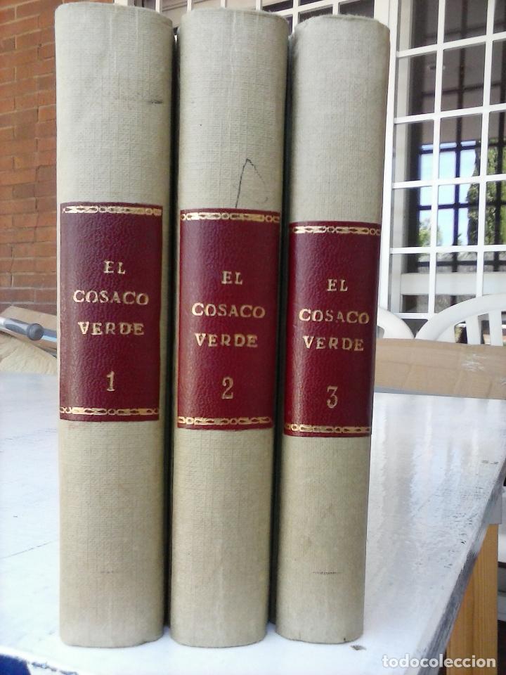 Tebeos: EL COSACO VERDE COMPLETA ORIGINAL 1 A 144 - EN MAGNÍFICO ESTADO, VER NUMEROSAS IMÁGENES, DE LUJO - Foto 6 - 125098099