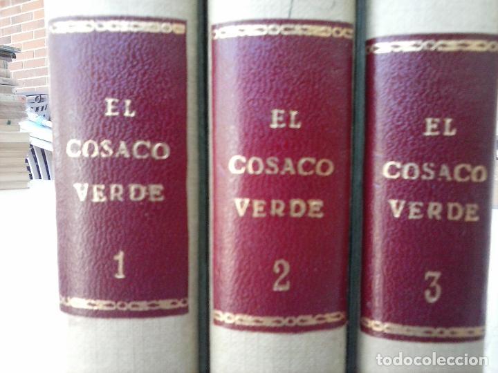 Tebeos: EL COSACO VERDE COMPLETA ORIGINAL 1 A 144 - EN MAGNÍFICO ESTADO, VER NUMEROSAS IMÁGENES, DE LUJO - Foto 7 - 125098099