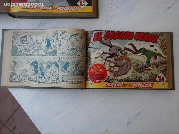 Tebeos: EL COSACO VERDE COMPLETA ORIGINAL 1 A 144 - EN MAGNÍFICO ESTADO, VER NUMEROSAS IMÁGENES, DE LUJO - Foto 10 - 125098099