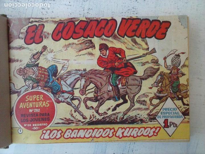 Tebeos: EL COSACO VERDE COMPLETA ORIGINAL 1 A 144 - EN MAGNÍFICO ESTADO, VER NUMEROSAS IMÁGENES, DE LUJO - Foto 12 - 125098099