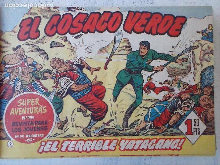Tebeos: EL COSACO VERDE COMPLETA ORIGINAL 1 A 144 - EN MAGNÍFICO ESTADO, VER NUMEROSAS IMÁGENES, DE LUJO - Foto 15 - 125098099