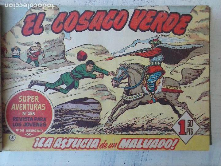 Tebeos: EL COSACO VERDE COMPLETA ORIGINAL 1 A 144 - EN MAGNÍFICO ESTADO, VER NUMEROSAS IMÁGENES, DE LUJO - Foto 17 - 125098099
