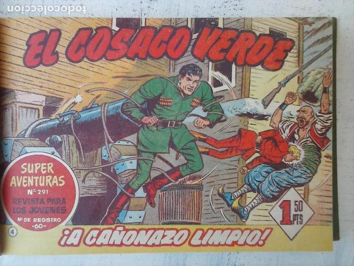 Tebeos: EL COSACO VERDE COMPLETA ORIGINAL 1 A 144 - EN MAGNÍFICO ESTADO, VER NUMEROSAS IMÁGENES, DE LUJO - Foto 19 - 125098099