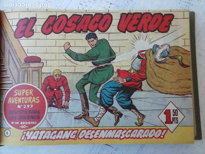 Tebeos: EL COSACO VERDE COMPLETA ORIGINAL 1 A 144 - EN MAGNÍFICO ESTADO, VER NUMEROSAS IMÁGENES, DE LUJO - Foto 27 - 125098099
