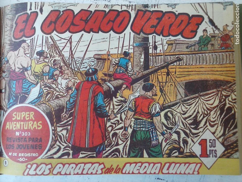 Tebeos: EL COSACO VERDE COMPLETA ORIGINAL 1 A 144 - EN MAGNÍFICO ESTADO, VER NUMEROSAS IMÁGENES, DE LUJO - Foto 33 - 125098099