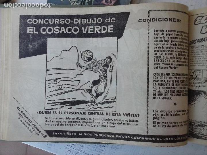 Tebeos: EL COSACO VERDE COMPLETA ORIGINAL 1 A 144 - EN MAGNÍFICO ESTADO, VER NUMEROSAS IMÁGENES, DE LUJO - Foto 34 - 125098099