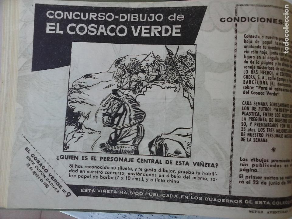 Tebeos: EL COSACO VERDE COMPLETA ORIGINAL 1 A 144 - EN MAGNÍFICO ESTADO, VER NUMEROSAS IMÁGENES, DE LUJO - Foto 39 - 125098099