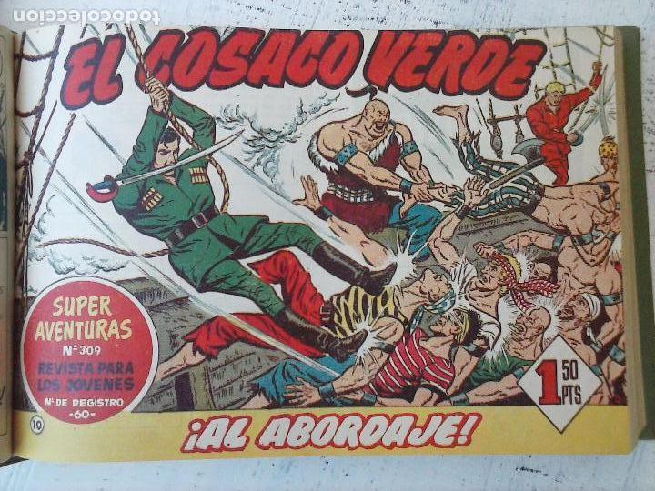 Tebeos: EL COSACO VERDE COMPLETA ORIGINAL 1 A 144 - EN MAGNÍFICO ESTADO, VER NUMEROSAS IMÁGENES, DE LUJO - Foto 44 - 125098099