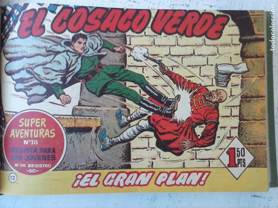 Tebeos: EL COSACO VERDE COMPLETA ORIGINAL 1 A 144 - EN MAGNÍFICO ESTADO, VER NUMEROSAS IMÁGENES, DE LUJO - Foto 51 - 125098099