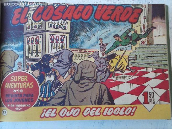 Tebeos: EL COSACO VERDE COMPLETA ORIGINAL 1 A 144 - EN MAGNÍFICO ESTADO, VER NUMEROSAS IMÁGENES, DE LUJO - Foto 57 - 125098099