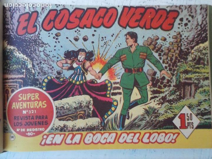 Tebeos: EL COSACO VERDE COMPLETA ORIGINAL 1 A 144 - EN MAGNÍFICO ESTADO, VER NUMEROSAS IMÁGENES, DE LUJO - Foto 61 - 125098099