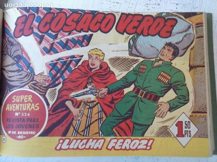 Tebeos: EL COSACO VERDE COMPLETA ORIGINAL 1 A 144 - EN MAGNÍFICO ESTADO, VER NUMEROSAS IMÁGENES, DE LUJO - Foto 64 - 125098099